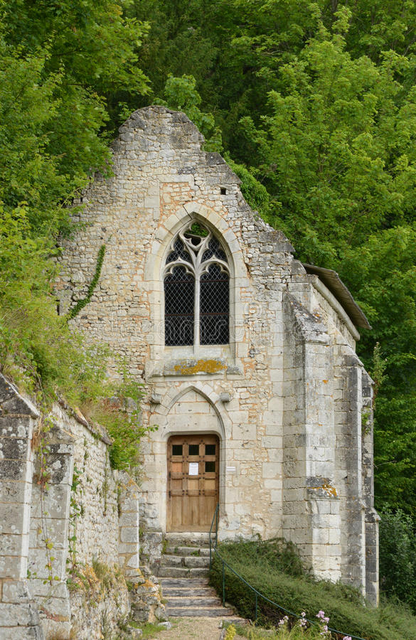 Radepont, France - 22 juillet 2015 : l'abbaye de Fontaine Guerard photographie stock