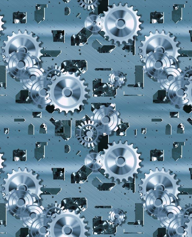 Radertjes en uurwerk vector illustratie