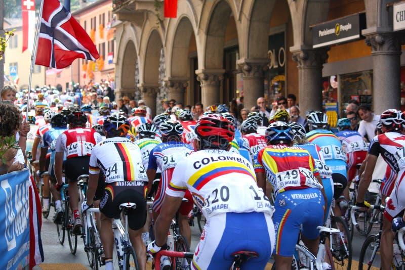 Radfahren - UCI Straßen-Weltmeisterschaften 2009 stockbilder