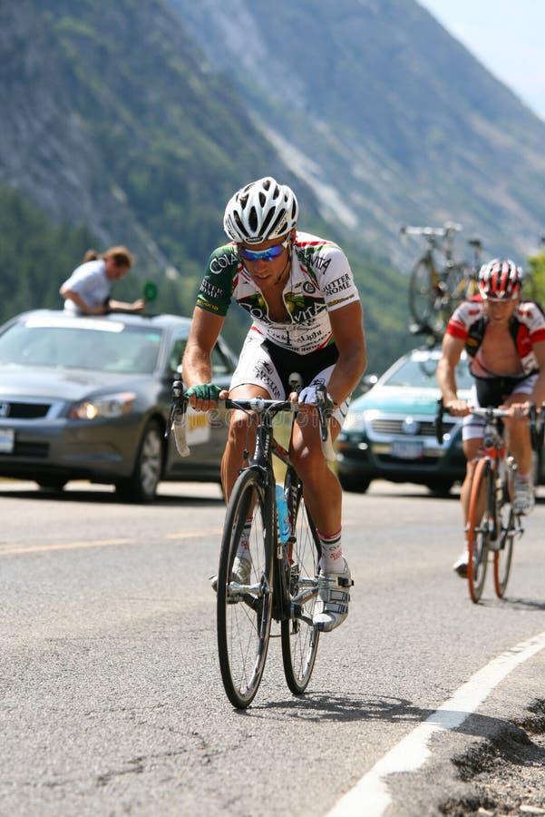 Radfahrer-Rennen: Ausflug von Utah, Stufe vier stockbild