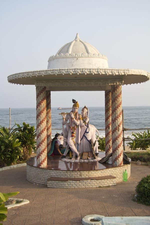 Radha et Krishna photo libre de droits