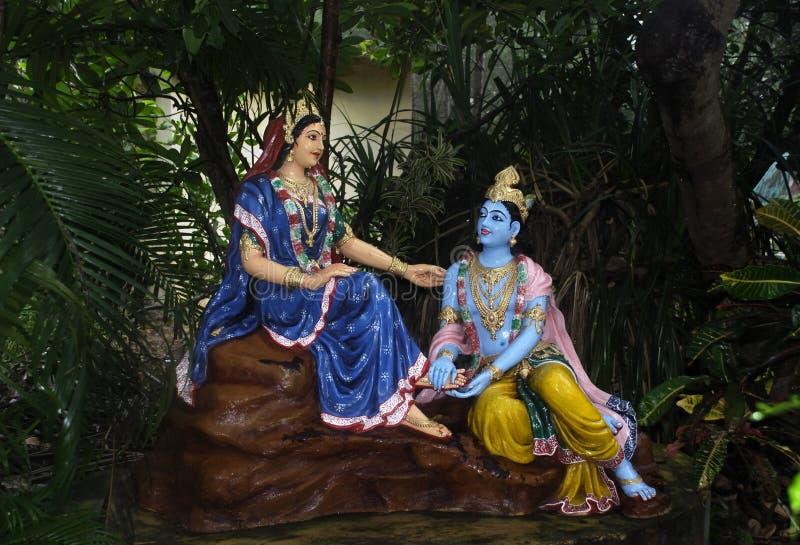 Radha-Krishna royalty-vrije stock fotografie