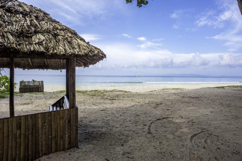 Radhanagar海滩 库存图片