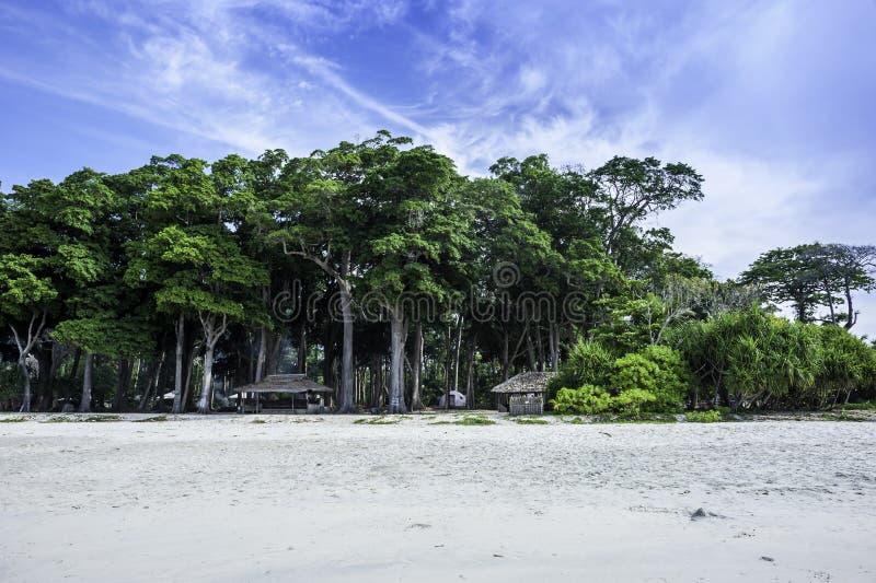 Radhanagar海滩 免版税库存图片