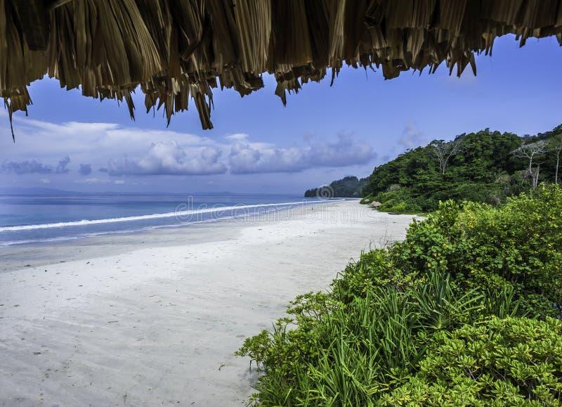 Radhanagar海滩 免版税库存照片