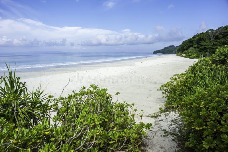 Radhanagar strand arkivbilder