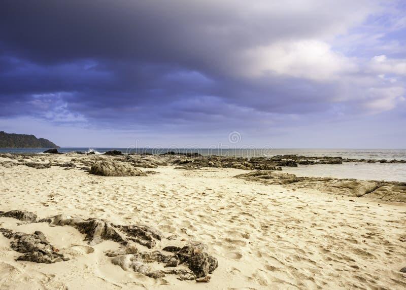 Radhanagar strand arkivfoto
