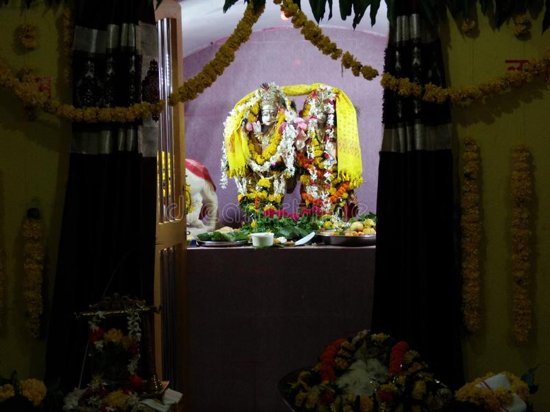 Radhe Krishna στοκ φωτογραφία με δικαίωμα ελεύθερης χρήσης