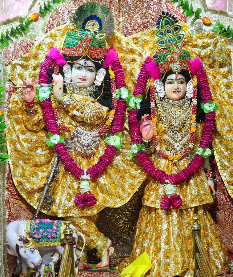 Radhe Krishna στοκ φωτογραφίες με δικαίωμα ελεύθερης χρήσης
