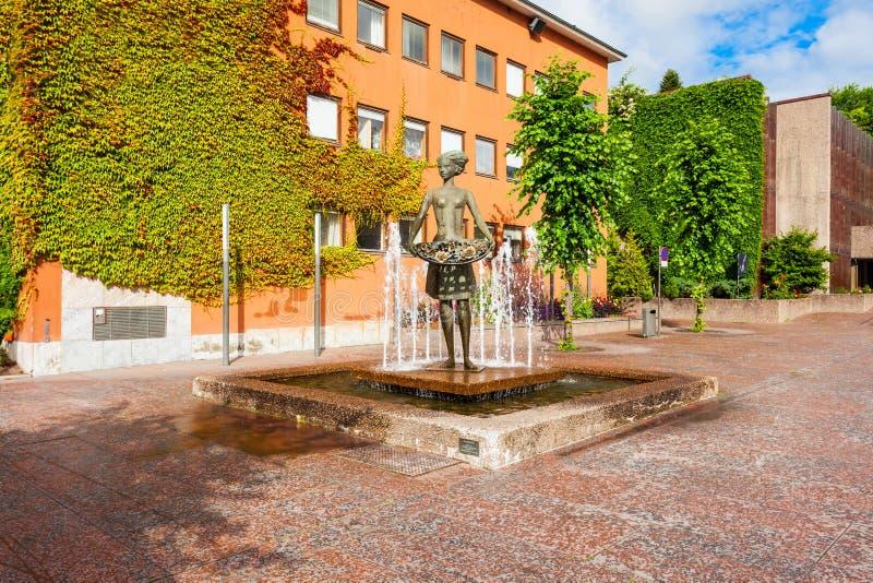 RadhusetStadhuis, Molde stock fotografie