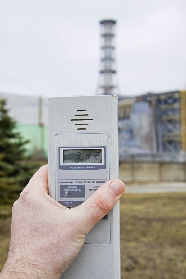 Radiación en Chernobyl imagen de archivo libre de regalías