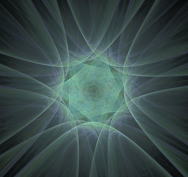 Radiaci?n nuclear Mol?culas y ?tomos de la imagen libre illustration