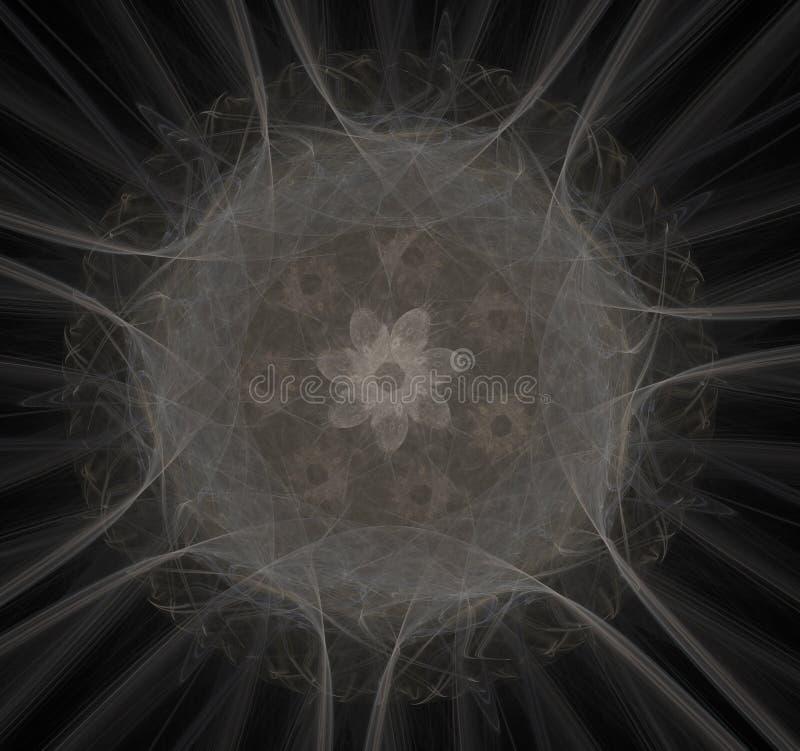 Radiaci?n nuclear Mol?culas y ?tomos de la imagen stock de ilustración