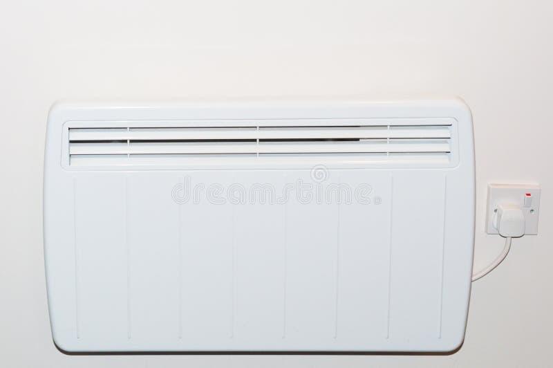 Radiador bonde do aquecimento da parede imagens de stock royalty free