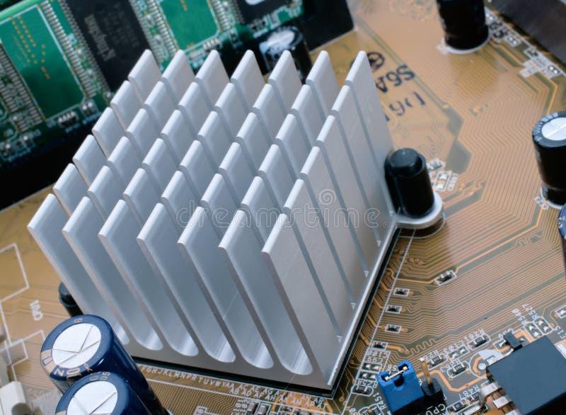 Radiador do chipset fotos de stock royalty free