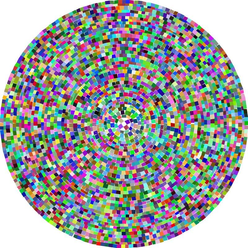 radial мозаики бесплатная иллюстрация
