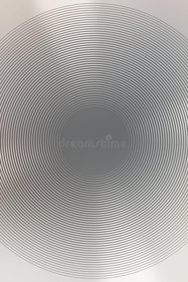 Radial abstrait de brun de gradient de fond E photos stock