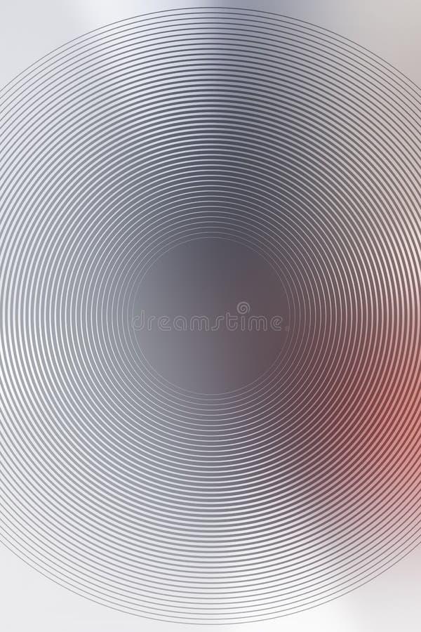 Radial abstrato do fundo da cor do movimento website ilustração stock
