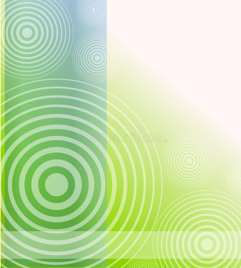 Radial Blue Green Opaque Background stock illustration