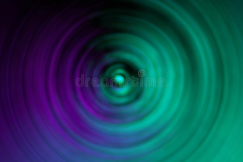 Radial blurred of background and pattern decorations.  stock images