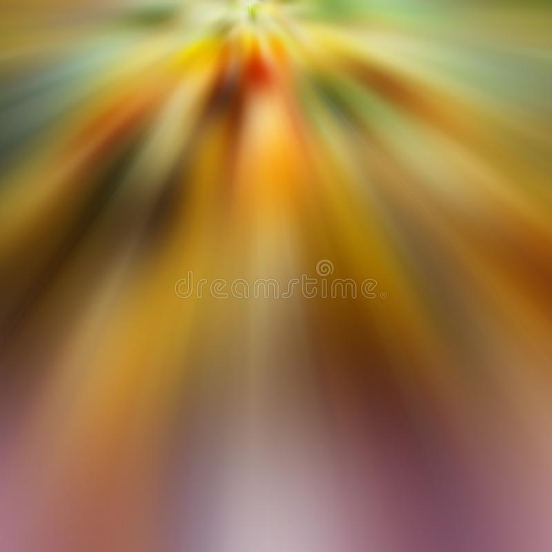 Radial blurred colored rays. Abstract background. Design element. Colors-yellow, brown, green, red stock photos