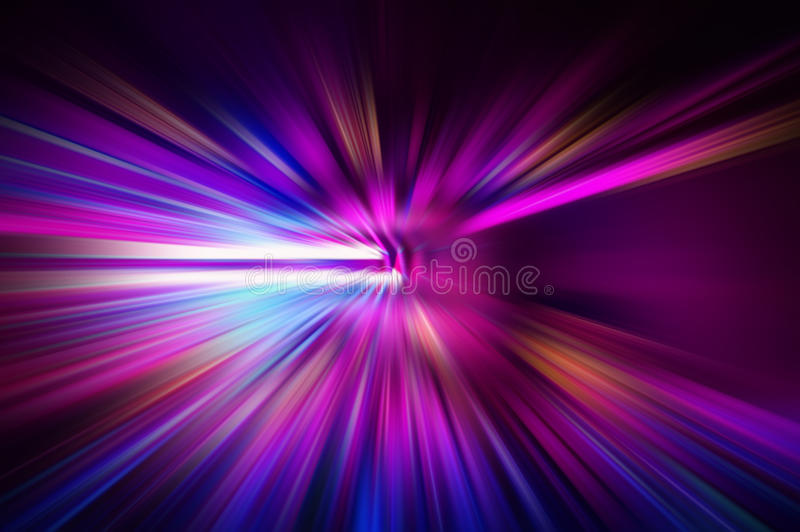 Radial colored rays. Abstract blurred background stock photography