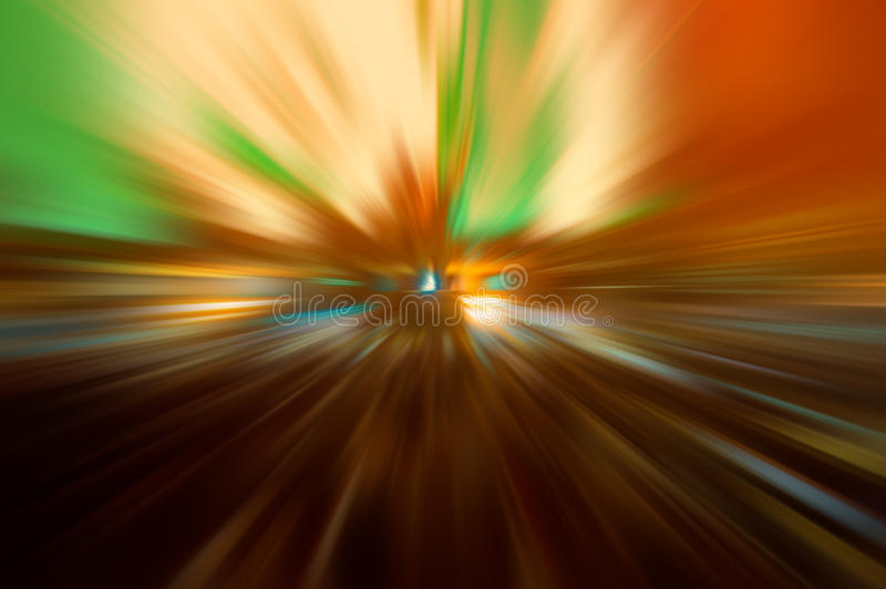 Radial colored rays. Abstract blurred background royalty free stock photo