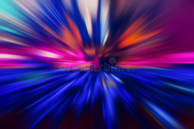 Radial colored rays. Abstract blurred background stock images