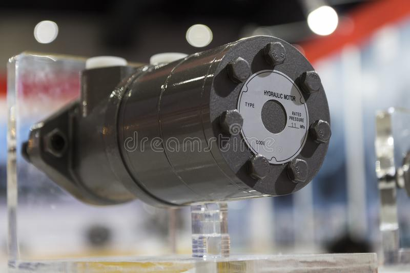 Radial Hydraulic Motor stock images