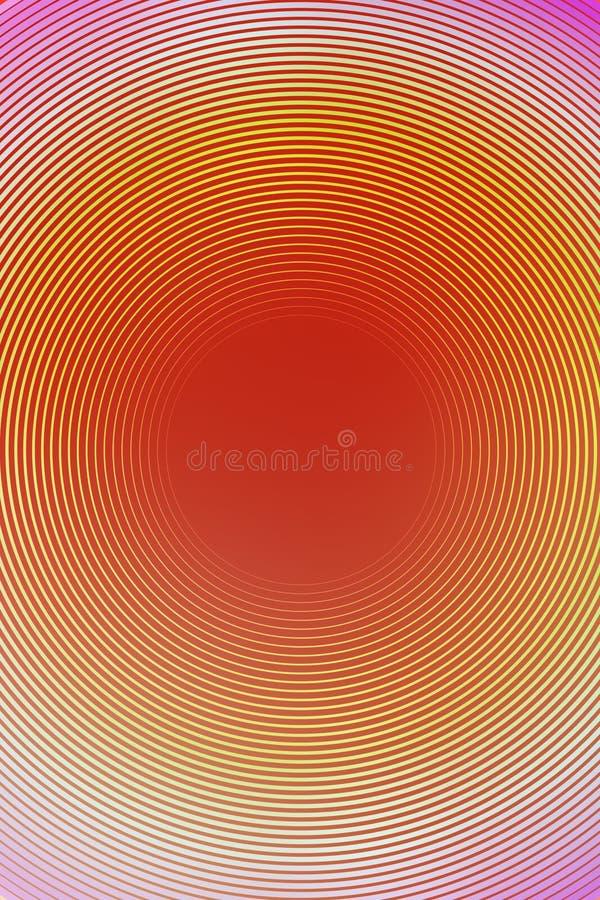 Radial orange de texture jaune de fond dessin images libres de droits