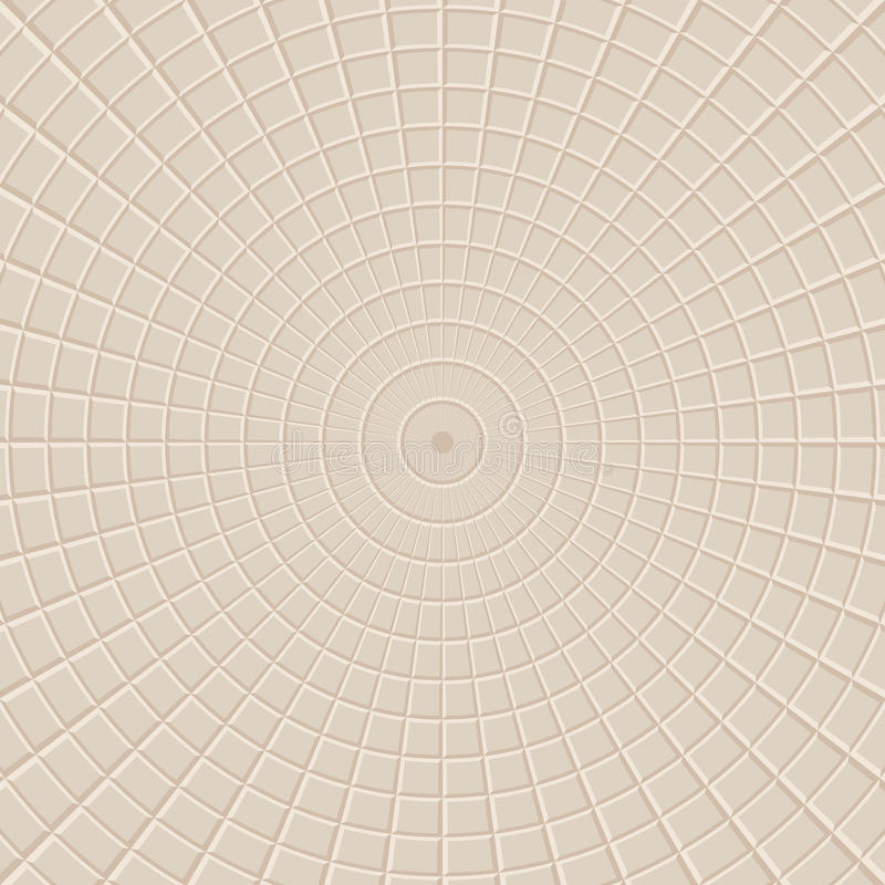 Radial square abstract background