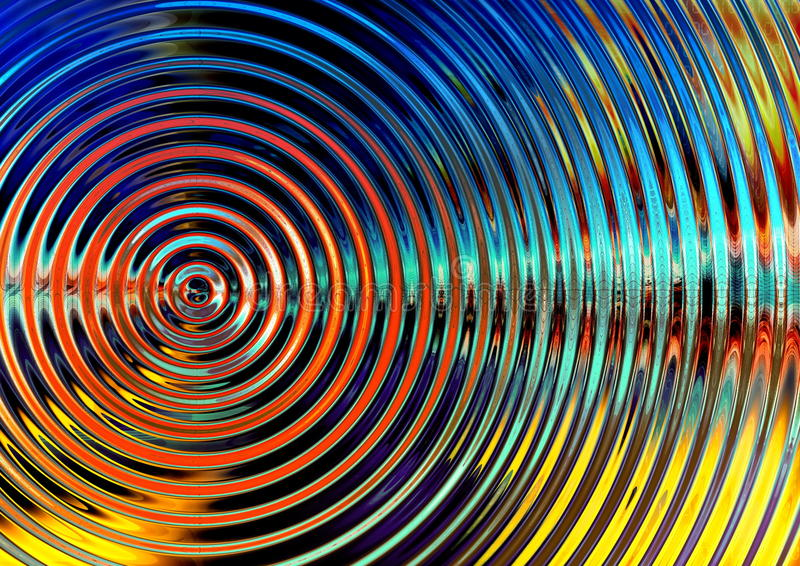 Radial Wave Royalty Free Stock Photos