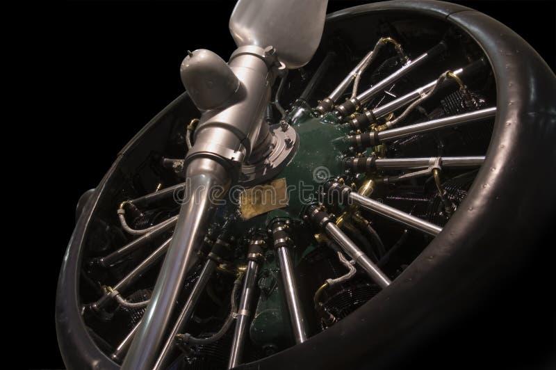 Radiale motor royalty-vrije stock foto