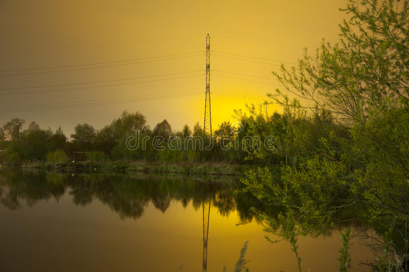 radiance fotografia stock