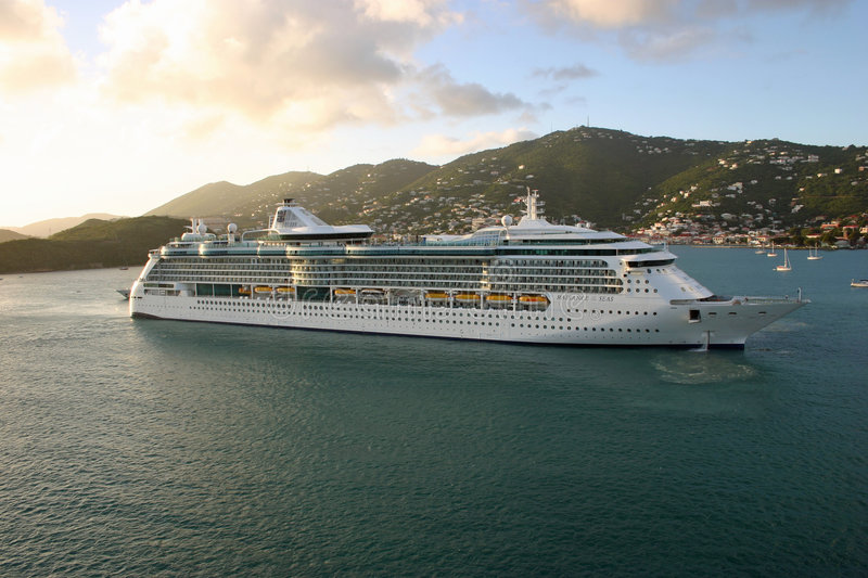 The Radiance of the Seas royalty free stock photo