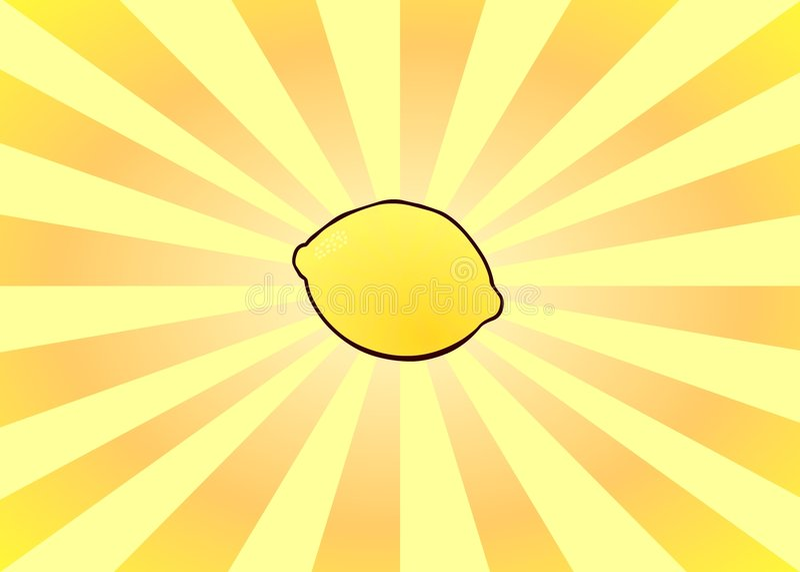 Download Radiant Lemon stock illustration. Image of green, fruit - 1294250