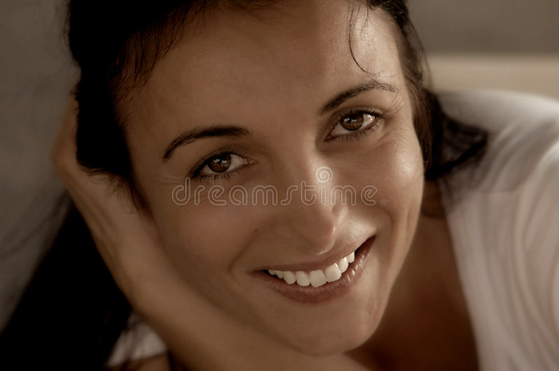 Download Radiant smile stock image. Image of smile, eyes, look, lady - 471199