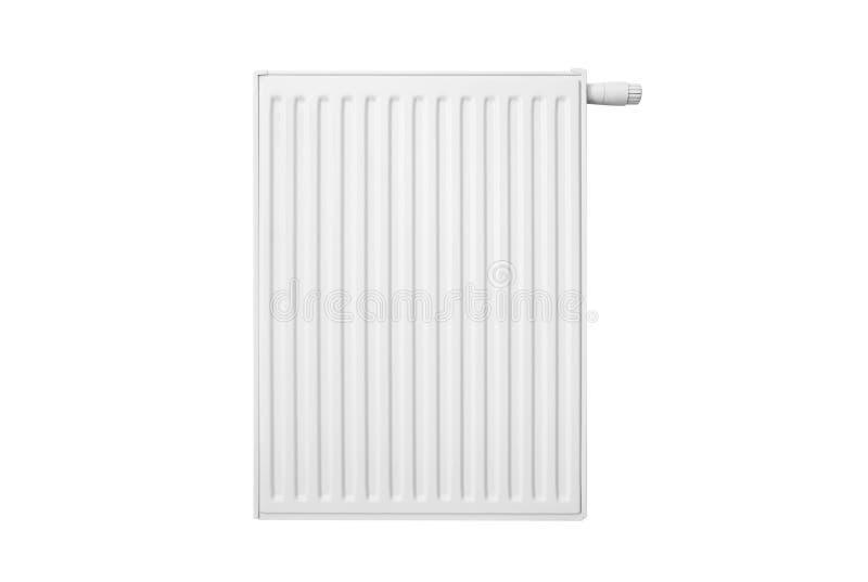 Radiateur d'isolement sur le fond blanc photographie stock
