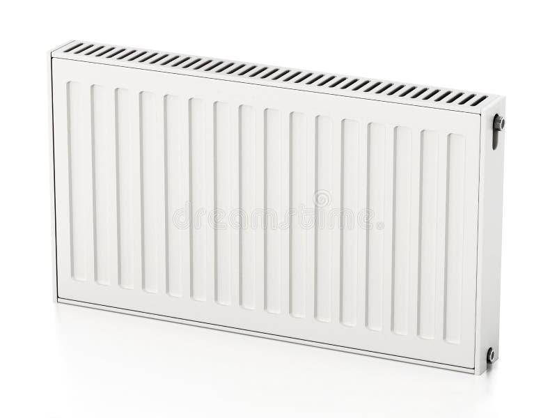 Radiateur d'isolement sur le fond blanc illustration 3D illustration stock