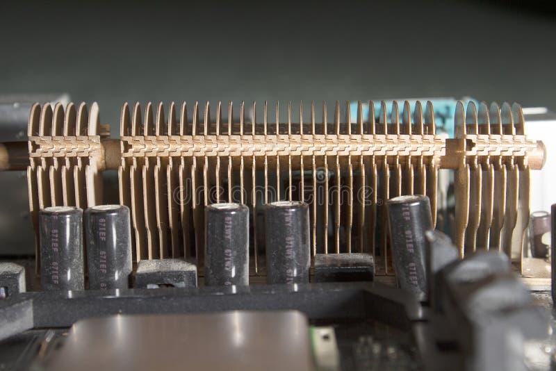 Radiateur de phase de puissance d'unité centrale de traitement photographie stock libre de droits