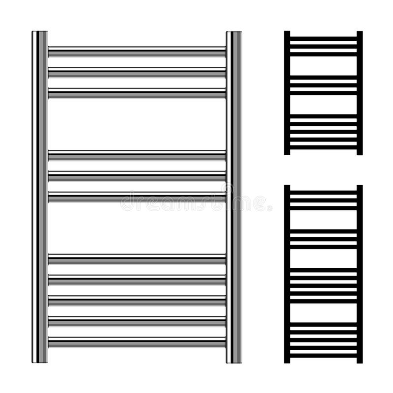 download radiateurs de chauffage central de salle de bains de rails de serviette dchelle - Radiateur Salle De Bain Chauffage Central