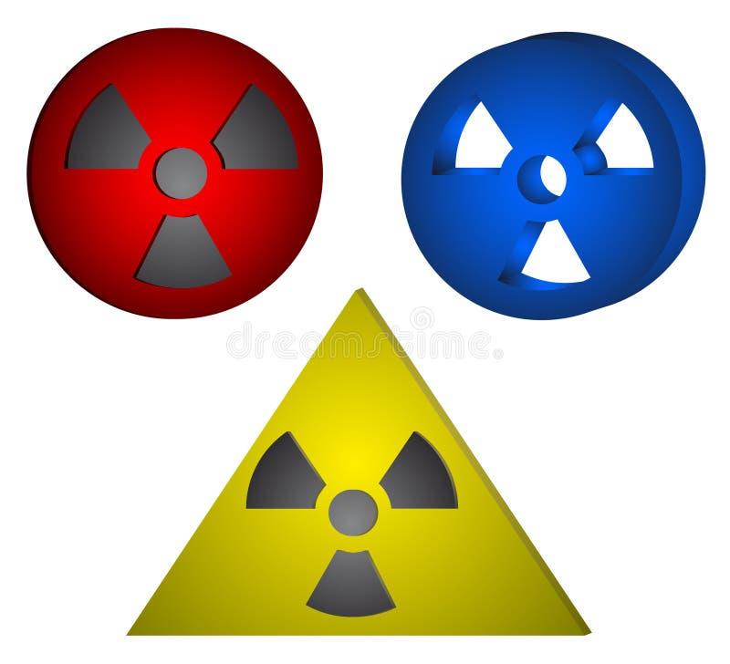 Download Radiation stock vector. Illustration of cancer, atomic - 18801354