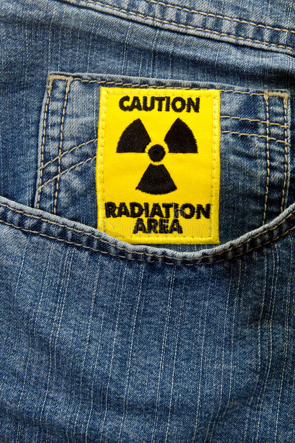 Free Radiation Area Caution Sign Royalty Free Stock Images - 31383229