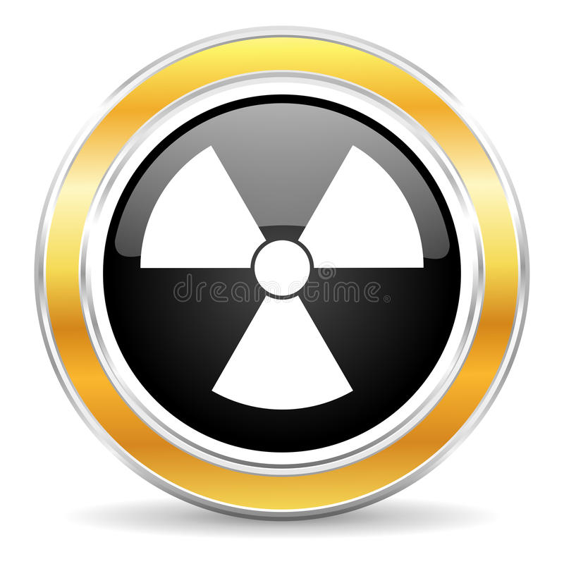 radiation icon royalty free stock images