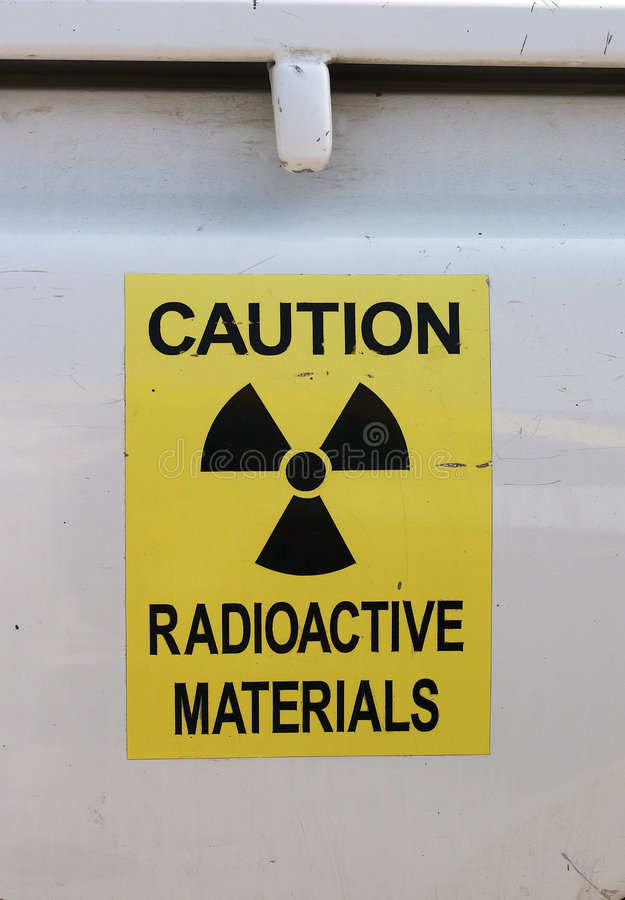 Free Radiation Warning Stock Photo - 65520