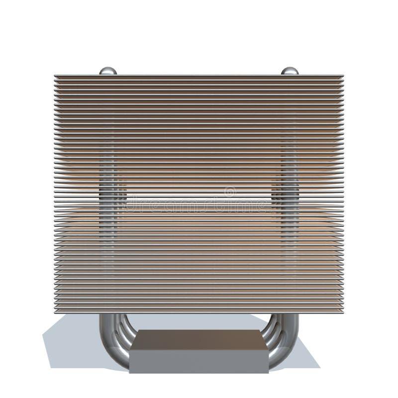 Download Radiator stock illustration. Image of coolant, tube, plug - 12074130