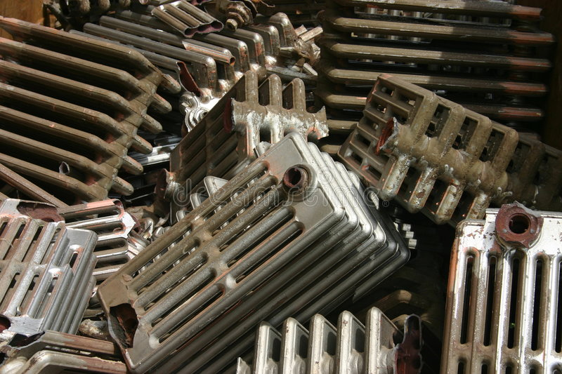 Radiator Dump stock photo