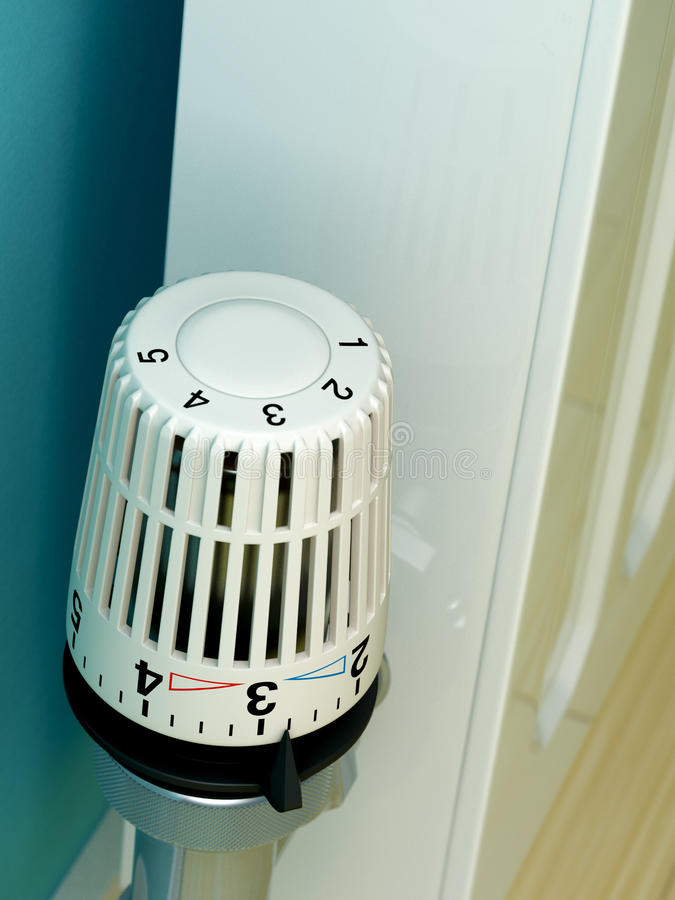 Download Radiator Thermostat stock image. Image of house, dial - 11045335