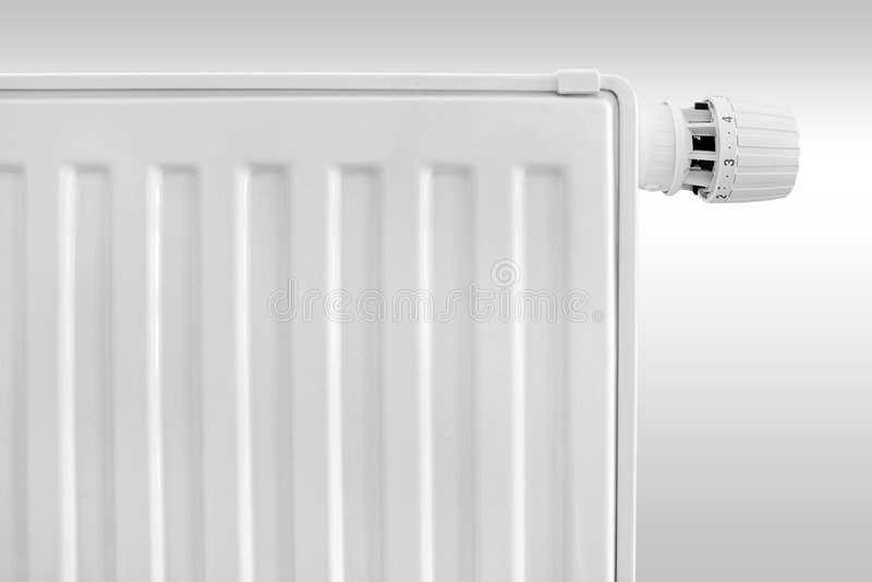 Radiator Thermostat Set Royalty Free Stock Photo