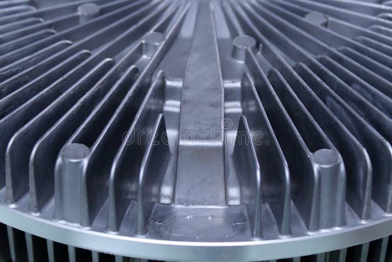 Radiatore circolare, officina di produzione fotografia stock